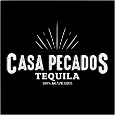 Casa Pecados Tequila black and white logo