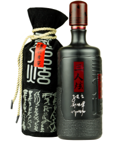 Bottle of Luzhou Laojiao Sanrenxuan