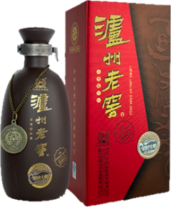 LUZHOU LAOJIAO ZISHA Bottle and box