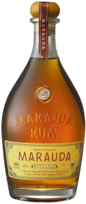 Marauda Rum bottle.
