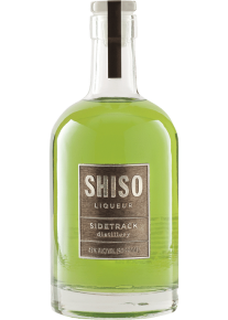 Sidetrack Distillery Shiso Liqueur bottle