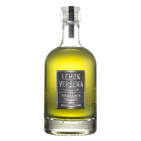 sidetrack Distillery Lemon Verbena Liqueur bottle.