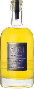Sidetrack Distillery Yuzu Liqueur bottle.