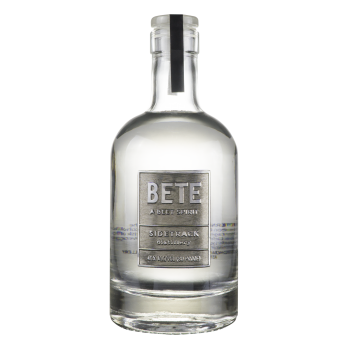 Sidetrack Distillery Bete (beet Spirit) bottle.